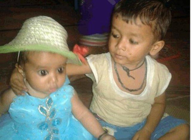 dalit children faridabad