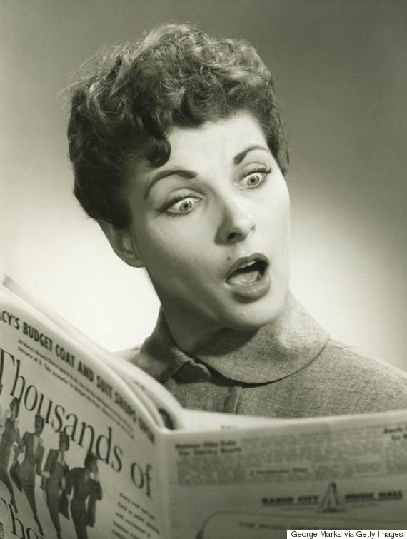 outraged women vintage photo