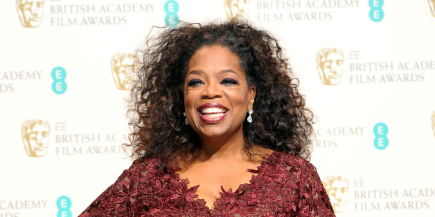Oprah Winfrey poses for photographers in the winners room at the EE British Academy Film Awards held at the Royal Opera House on Sunday Feb. 16, 2014, in London. (photos by Jon Furniss/Invision/AP)