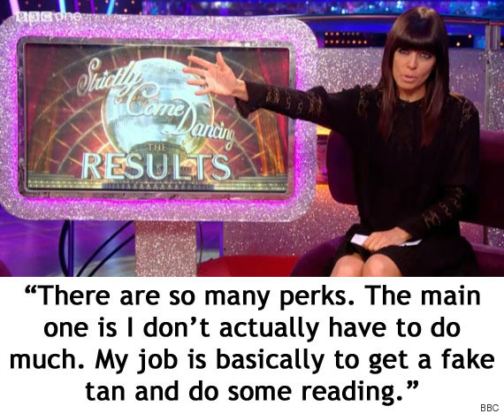 claudia winkleman strictly