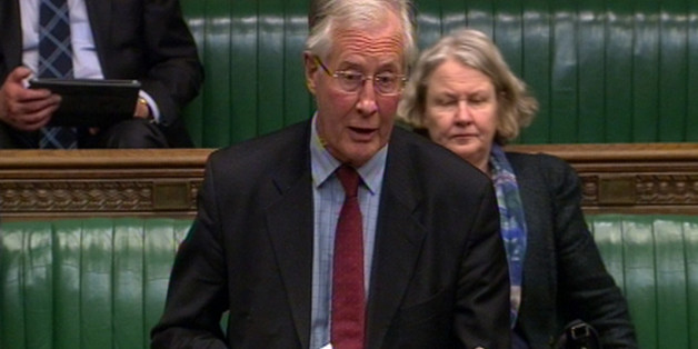 Michael Meacher MP speaks during a tribute to Baroness Margaret Thatcher in the House of Commons, London.