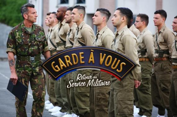 garde à vous m6 service militaire