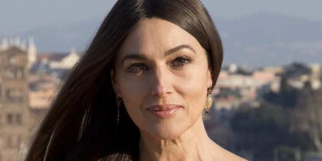 Actress Monica Bellucci poses during a photo call for the latest James Bond movie 'Spectre', in Rome, Wednesday, Feb. 18, 2015. (AP Photo/Andrew Medichini)