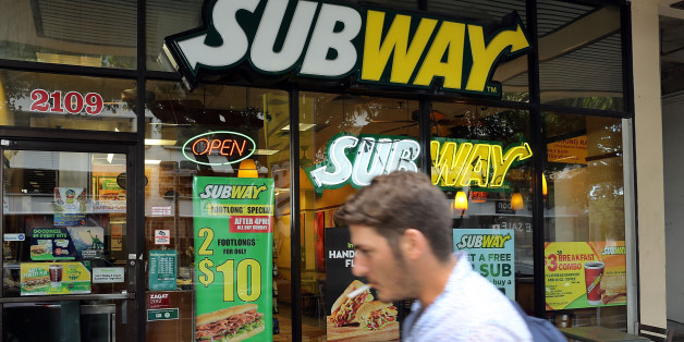 Eine Subway-Filiale in den USA