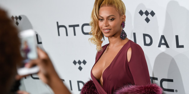 Singer Beyonce Knowles arrives at TIDAL X: 1020 Amplified by HTC at the Barclays Center on Tuesday, Oct. 20, 2015, in New York. (Photo by Evan Agostini/Invision/AP)
