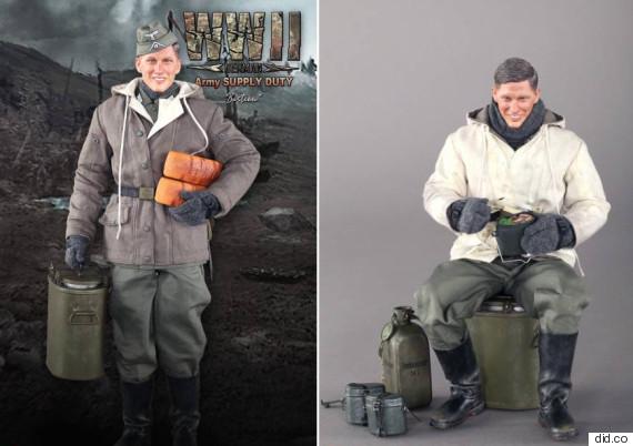 bastian schweinsteiger nazi doll action figure