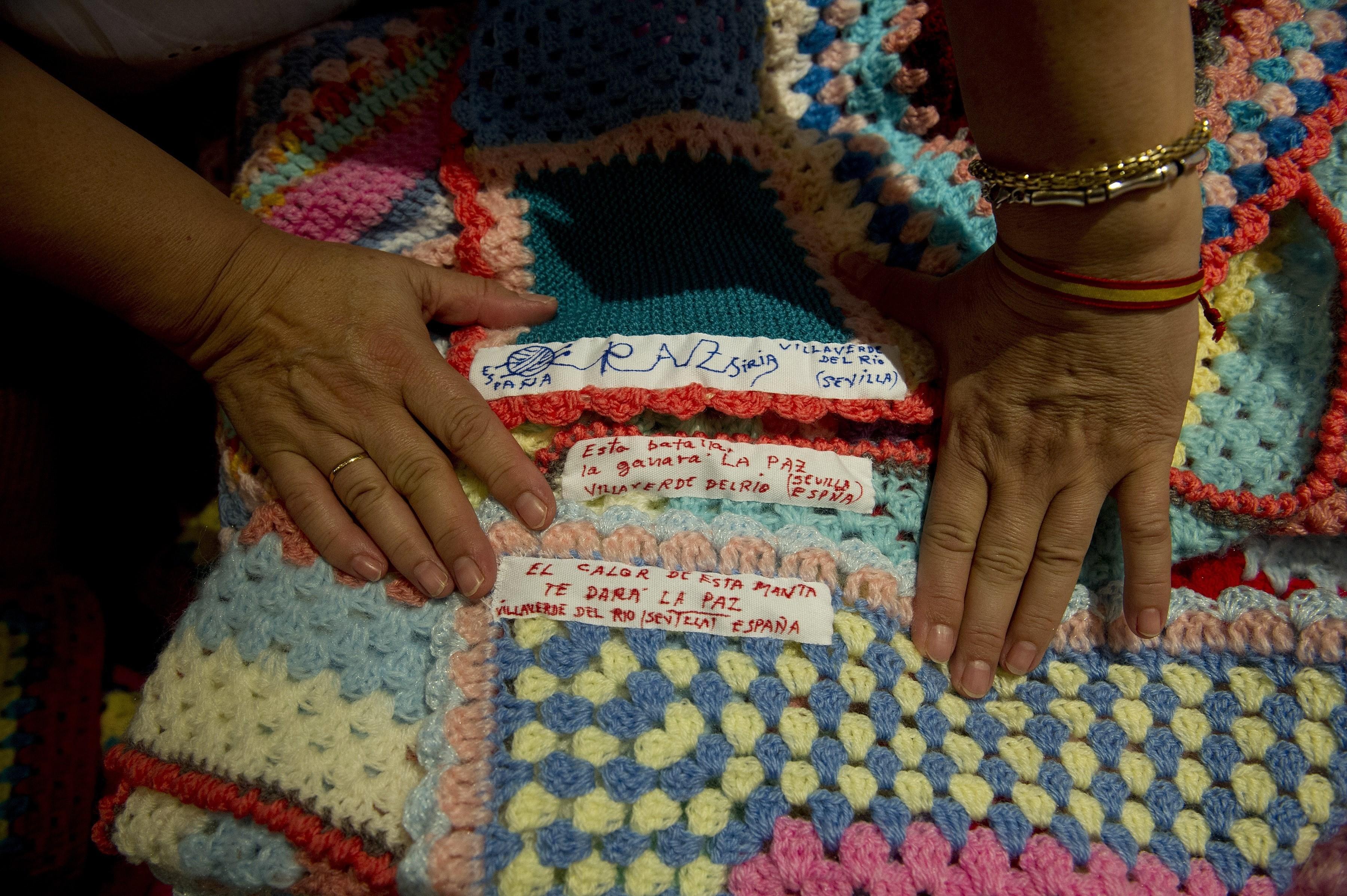 blankets spain syria