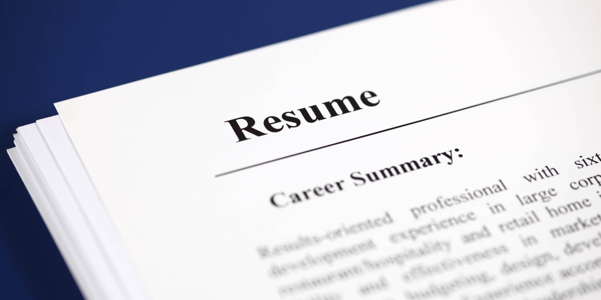 5 resume mistakes that sabotage your job search