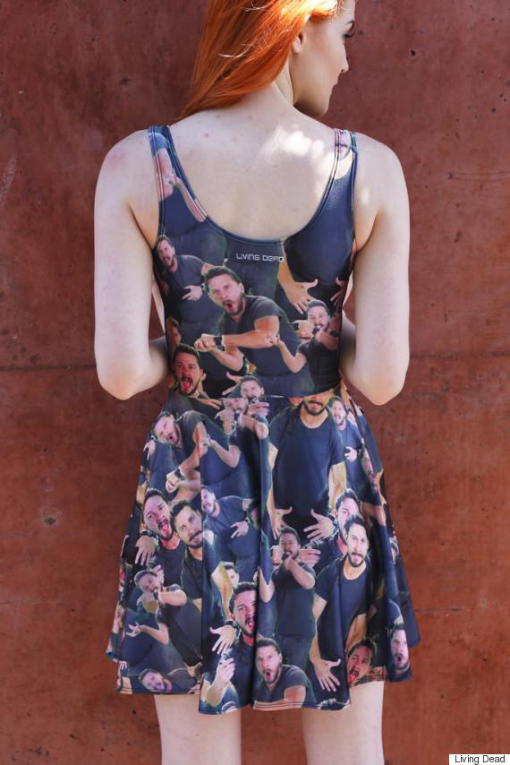 shia labeouf dress