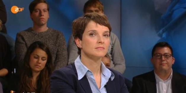 "Frauke Petry bei ""Maybrit Illner"""