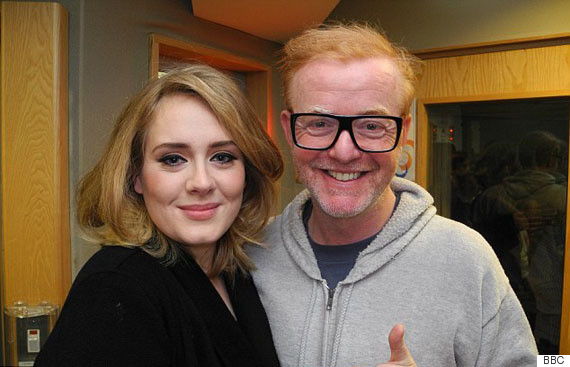 chris evans adele