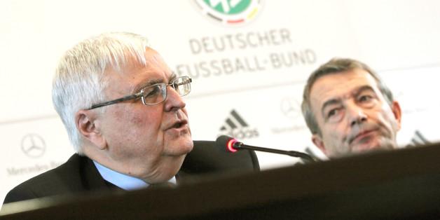 Theo Zwanziger (l) und Wolfgang Niersbach