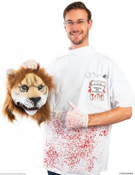 cecil the lion halloween costume