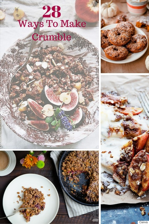 28 crumble recipes
