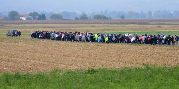 So will die EU den Flüchtlingszug nach Deutschland stoppen