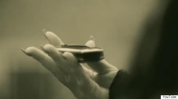 adele flip phone