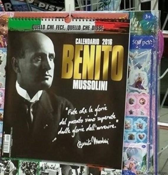 calendario mussolini