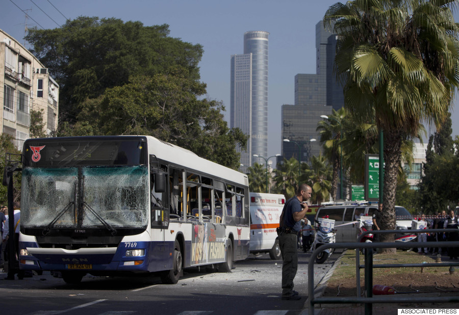 tel aviv bus bombing 2012