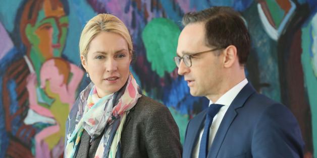 Familienministerin Manuela Schwesig (links) und Justizminister Heiko Maas