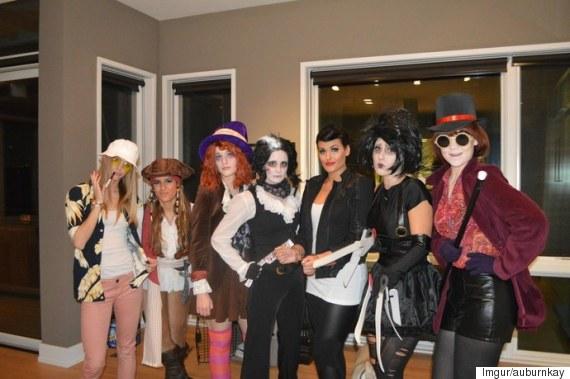 johnny depp halloween costumes