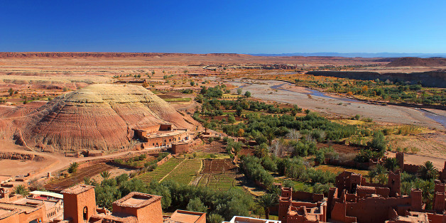 In der marrokanischen Stadt Ouarzazate entsteht die größte Solaranlage der Welt.