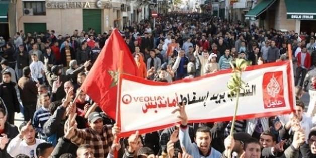 A Tanger, les habitants protestent contre Amendis