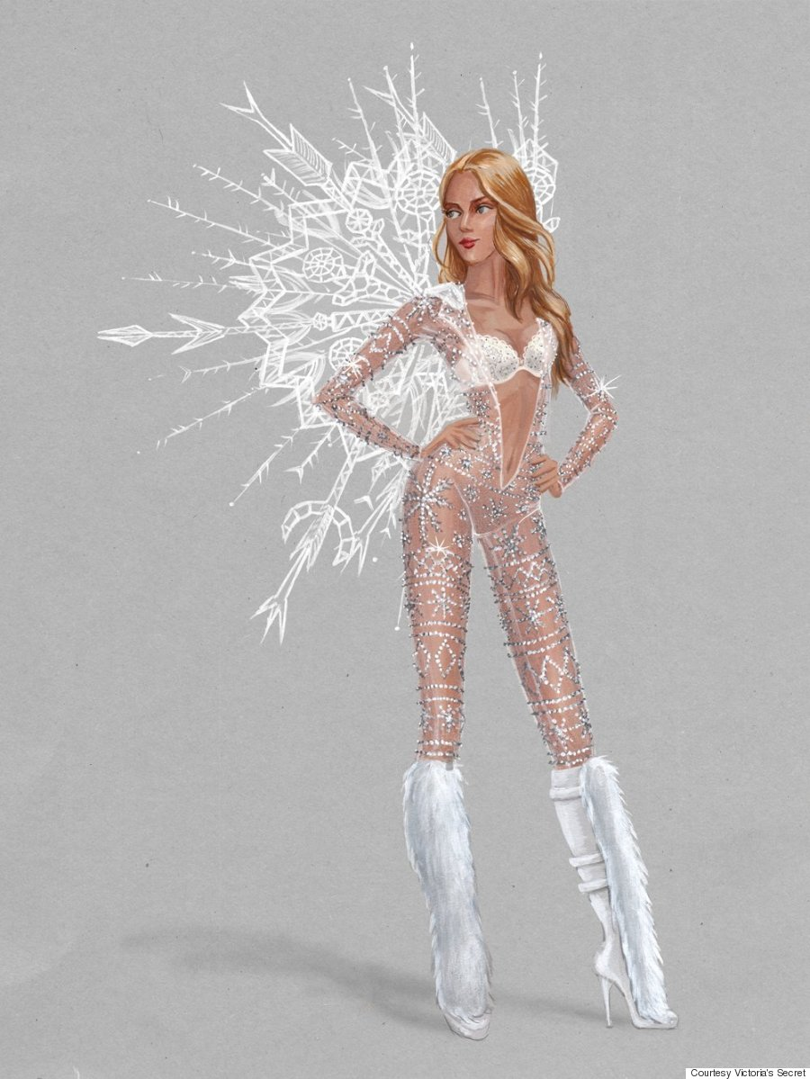 Victoria\'s Secret Fashion Show 2015: First Look At The \'Ice Angels ...