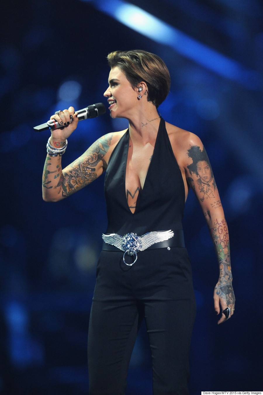 Ruby Rose Slays Every Single Outfit At The 2015 MTV EMAs
