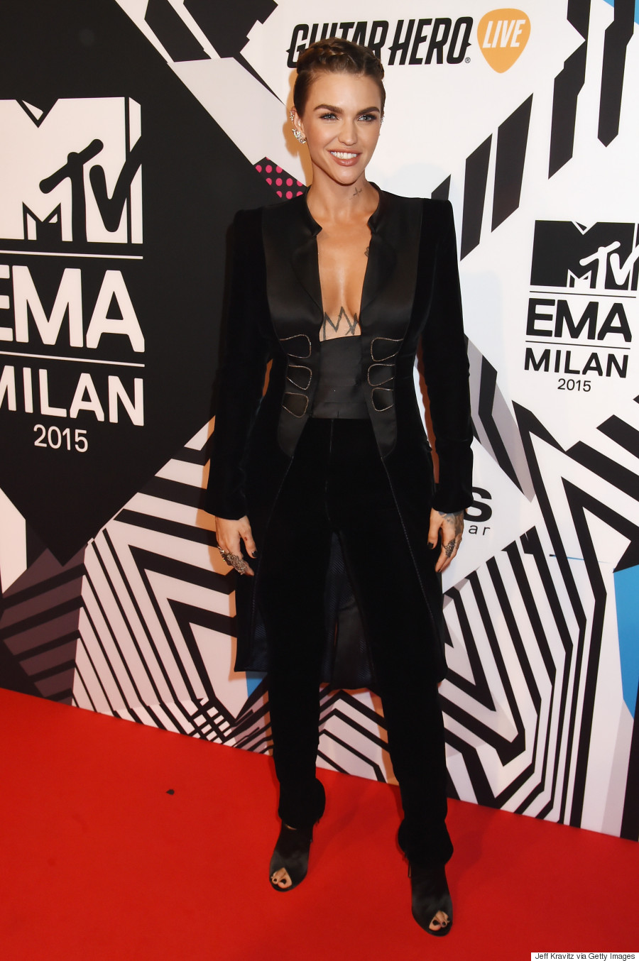 Ruby Rose Slayed the MTV EMAs RedCarpet
