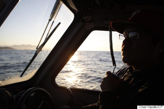 tofino boat sinking ahoushat first nation