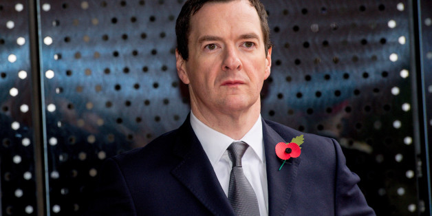 MANCHESTER, ENGLAND - OCTOBER 23:  Chancellor of the Exchequer George Osborne waits for The President of the People's Republic of China Xi Jinping to arrive to tour the National Graphene Institute at Manchester University with the Chancellor of the Exchequer George Osborne on October 23, 2015 in Manchester, England. After listening to a presentation from Dame Nancy Rothwell, the party toured the University Centre which leads the world in graphene research and is one of the most important centres for commercialising the one-atom-thick material. (Photo by Richard Stonehouse - WPA Pool/Getty Images)