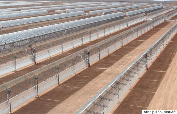 ouarzazate solar power plant