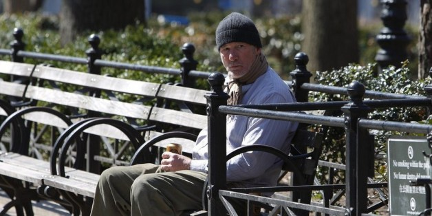 Foto von Richard Gere als Obdachloser: Jetzt verrät er, was dahinter steckt
