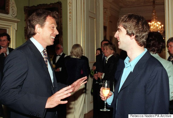 tony blair noel gallagher