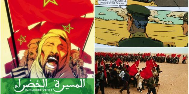 La Marche verte racontée en bande-dessinée