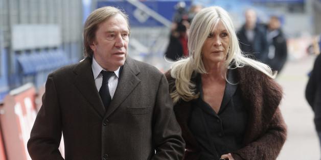 Günther Netzer und seine Frau