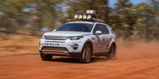 Der neue Land Rover Discovery Sport im australischen Outback