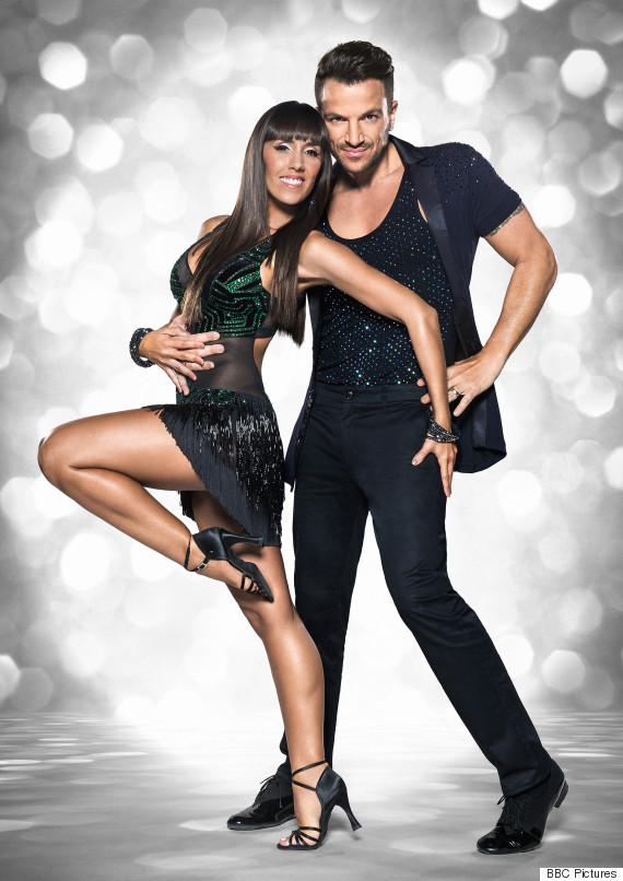peter andre strictly come dancing