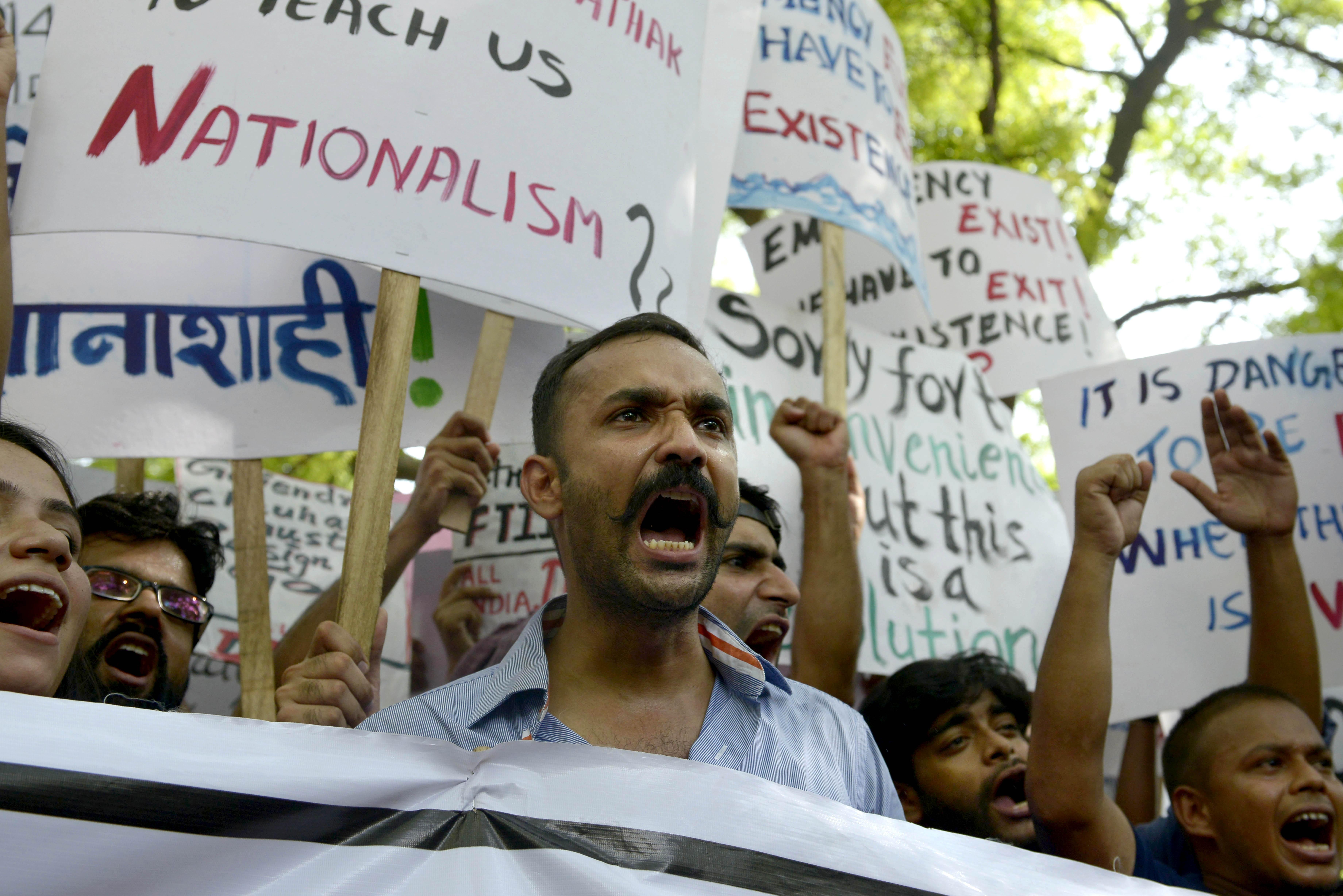 ftii student protest
