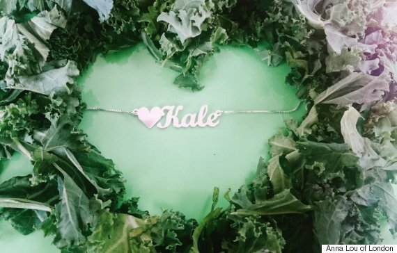 kale necklace