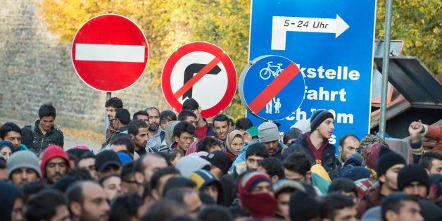 Tausende Flüchtlinge kommen derzeit jeden Tag nach Deutschland.