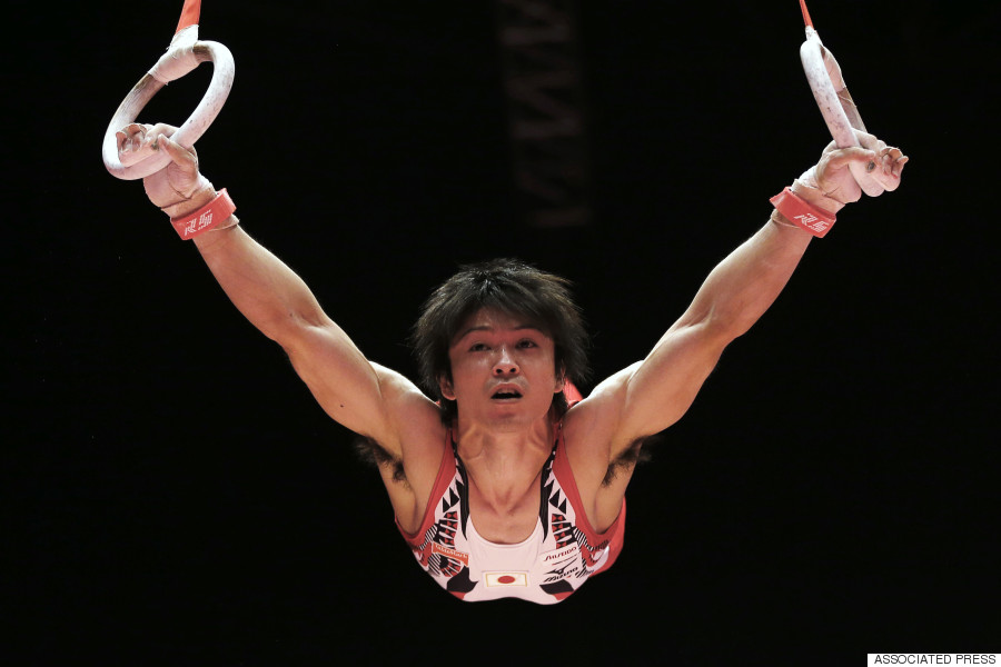 gymnastics world championships glasgow 2015 japan