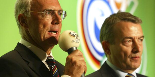 DFB-Präsident Wolfgang Niersbach und Franz Beckenbauer