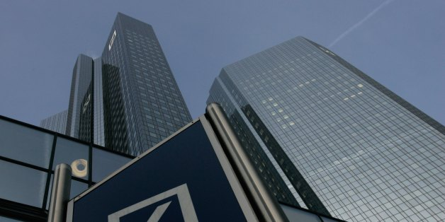 Die Deutsche Bank in Frankfurt