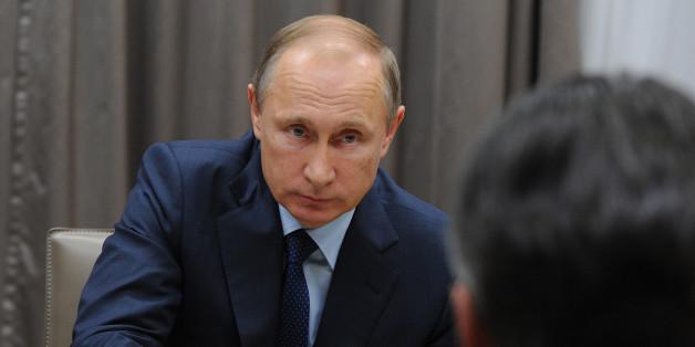 Wladmir Putin und Sigmar Gabriel bei ihrem Treffen in Moskau