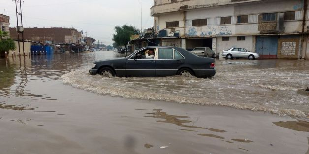 Inondations à Bagdad en 2013