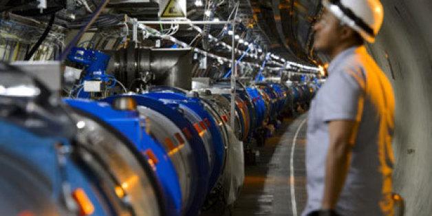 Le grand accélérateur de particules construit à la frontière franco-suisse