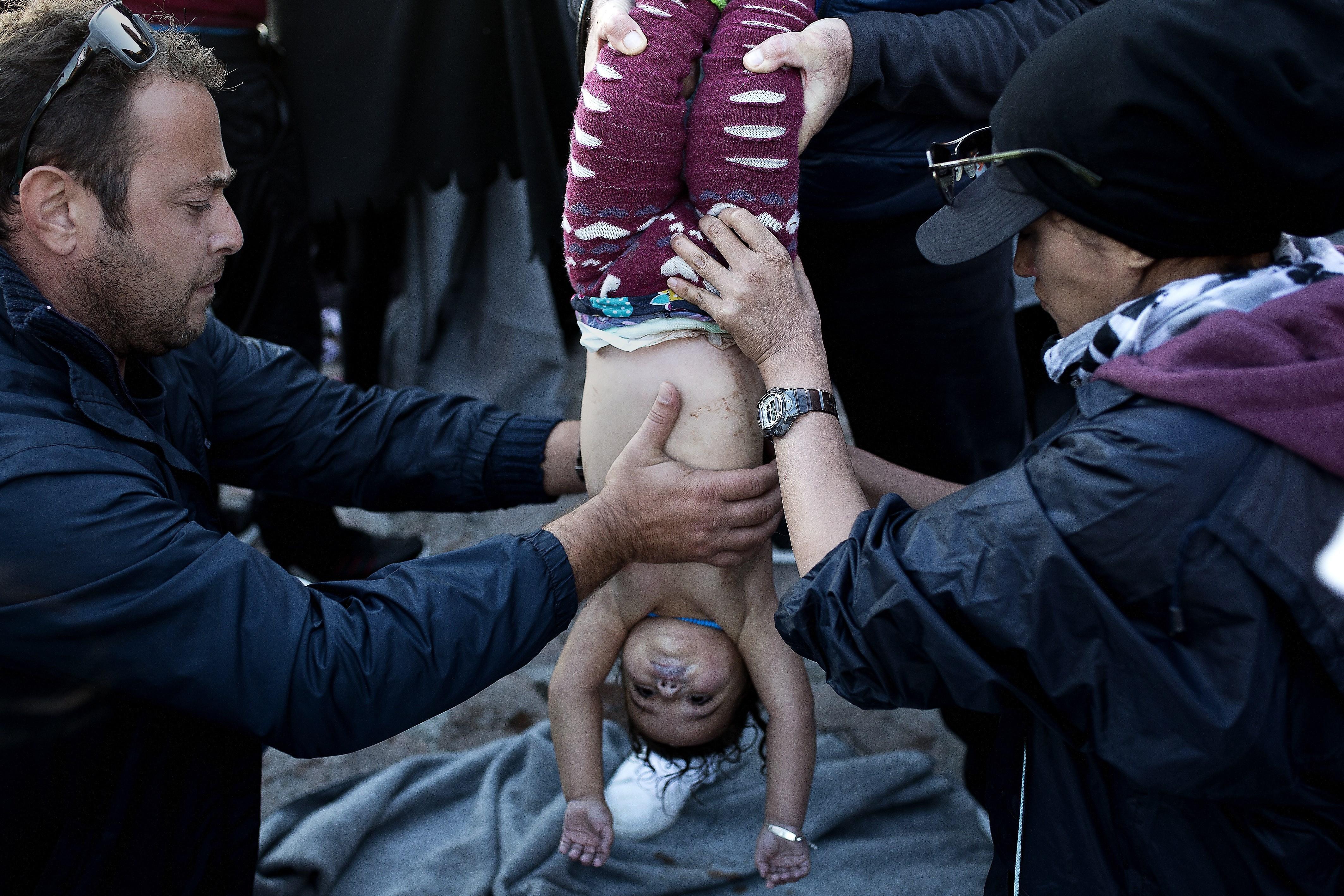 lesvos refugees october 28