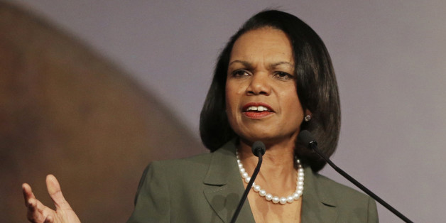 Condoleezza Rice slams Donald Trump's comments pointing a finger at former President George W. Bush for failing to prevent 9/11.