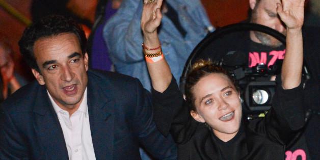 Mary-Kate Olsen und Olivier Sarkozy bei einem Ronnie-Wood-Konzert 2013 in New York